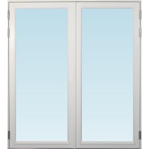 SP Fönster Altandörr Stabil 1780x1980mm vänster par helglas 3-glas, härdad in och utsida (18x20)