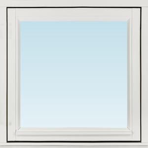 Sp Fönster Fönster Stabil 680x680mm Vänster Utåt 1-Luft Målad 3-Glas  (7x7)