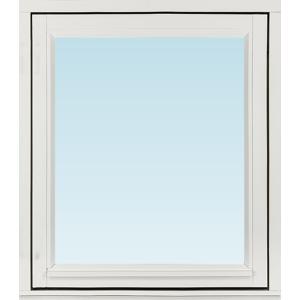 Sp Fönster Fönster Stabil 680x780mm Vänster Utåt 1-Luft Målad 3-Glas  (7x8)
