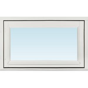 SP Fönster Fönster Stabil 780x480mm överhängt utåt 1-luft målad 3-glas  (8x5)