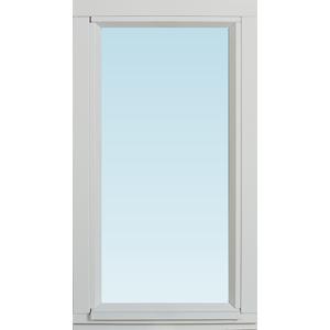 SP Fönster Fönster Stabil 380x680mm fast målad 3-glas  (4x7)