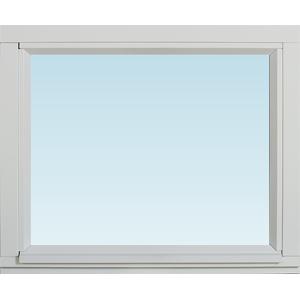 SP Fönster Fönster Stabil 580x480mm fast målad 3-glas  (6x5)