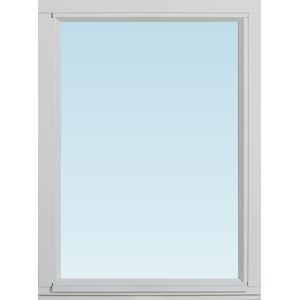 SP Fönster Fönster Stabil 580x780mm fast målad 3-glas  (6x8)