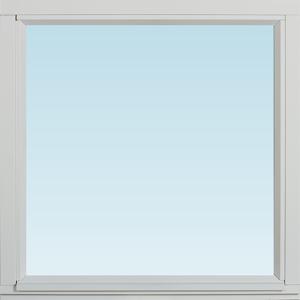 SP Fönster Fönster Stabil 680x680mm fast målad 3-glas  (7x7)