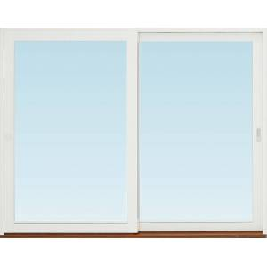 SP Fönster Skjutdörr A trä  2780x2190mm vänster 3-glas härdat in och utsida (28x22)
