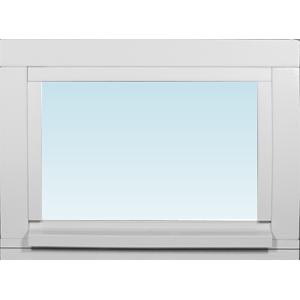 Dala Fönster Fönster DFK 385x285mm fast målad 1-luft 3-glas (4x3)