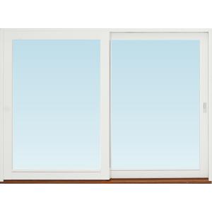 SP Fönster Skjutdörr A trä  2580x1890mm vänster 3-glas härdat in och utsida (26x19)