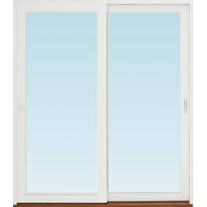 SP Fönster Skjutdörr A alu  2080x2390mm vänster 3-glas härdat in och utsida (21x24)