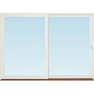 SP Fönster Skjutdörr A alu  3180x2290mm vänster 3-glas härdat in och utsida (32x23)