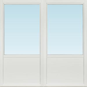 SP Fönster Altandörr Intakt  1780x1780/1180mm  vänster inåt par 2+1 glas linjerar öppningsbart (18x18)