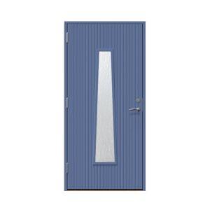 Entrédörr till villa Rydebäck 9 x 20, Vänsterhängd, Skymningsblå