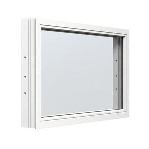 Fast fönster Energi Aluminium 4, 19, Vit