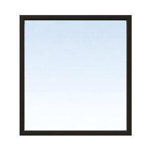Fast fönster Energi Aluminium 9, 22, Svart