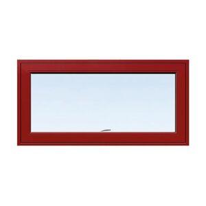 Överkantshängt fönster Energi Aluminium 11, 8, Röd