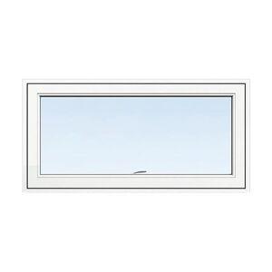 Överkantshängt fönster Energi Aluminium 10, 7, Vit