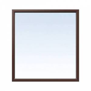 Fast fönster Energi Aluminium 13, 18, Nötbrun