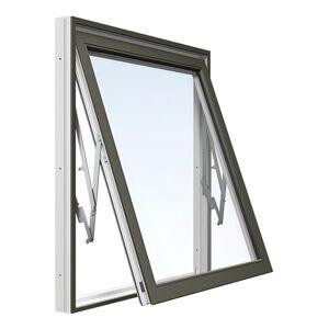 Vridfönster Energi Aluminium 5, 9, Olivgrön