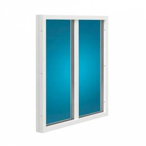 Fast fönster med mittpost Energi Trä 13, 10, Klart energiglas 1,0