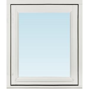 Sp Fönster Fönster Stabil 580x680mm Höger Utåt 1-Luft Målad 3-Glas  (6x7)