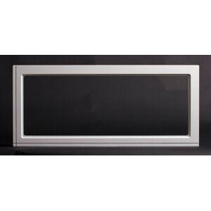 Dala Dörren Dekorfönster Kombi utvändigt  890x390mm vit enkelglas