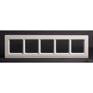 Dala Dörren Dekorfönster Kombi utvändigt  överljus 990x240mm vit enkelglas, spröjs