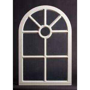 Dala Dörren Dekorfönster Slott Utvändigt  790x1190mm Vit Enkelglas, Spröjs