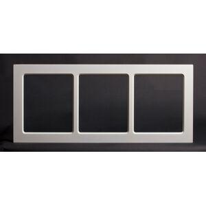Dala Dörren Dekorfönster Kombi utvändigt  spröjs 890x390mm vit enkelglas
