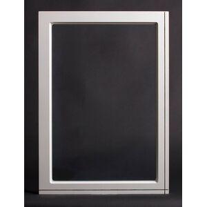 Dala Dörren Dekorfönster Kombi Utvändigt  490x690mm Vit Enkelglas