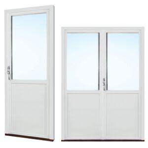 Traryd fönster Altandörr Intakt  1880x2180/1180mm  vänster inåt par 2+1 glas linjerar öppningsbart