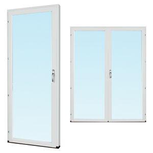 Traryd fönster Altandörr Intakt  1780x2380 vänster inåt par helglas 3-glas isoler, härdad in och utsida