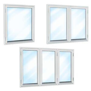 Traryd fönster Fönster Gård 1280x580mm överhängt 1-luft 2-glas isoler utåt