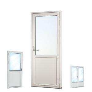 Traryd fönster Altandörr Genuin  1580x2380/1180mm vänster par 3-glas linjerar fast