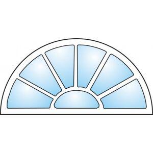 Dörrtema Dekorfönster Exklusiv Modul 8x4