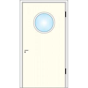 Dörrtema Dörrglaslist runt glas Diameter 4