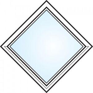 Dörrtema Fönster 3-glas energi argon fyrkant öppningsbart Modul 6x6