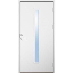 Dörrtema Förrådsdörr 18 graders HDF Irene Modul 7x25