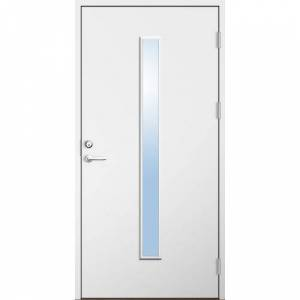 Dörrtema Förrådsdörr 18 graders HDF Irene Modul 10x22