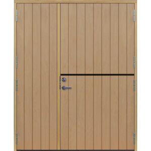 Dörrtema Parhästdörr exklusiv tät stående spårning Modul 17x20