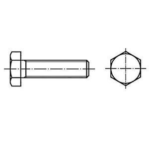 TOOLCRAFT 127992 Hexagon skruer M3 12 Hex mm hodet DIN 933 stål 100 eller flere PCer