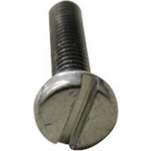 TOOLCRAFT 104185 Allen skruer M3, 5 12 mm spor DIN 84 stål sink galvanisert 200 eller flere PCer