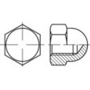 TOOLCRAFT 137161 Hex cap nøtter M6 DIN 1587 stål 100 eller flere PCer