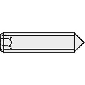 TOOLCRAFT 827351 Grub skru M5 10 mm stål 20 eller flere PCer