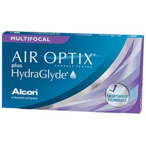 Air Optix AIR OPTIX Plus HydraGlyde Multifocal 3 Pack Kontaktlinser