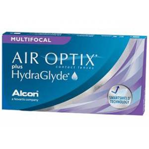 Air Optix AIR OPTIX Plus HydraGlyde Multifocal 6 Pack Kontaktlinser