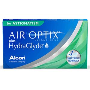Air Optix AIR OPTIX Plus HydraGlyde for Astigmatism 3 pack Kontaktlinser