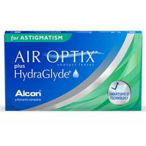 Air Optix AIR OPTIX Plus HydraGlyde for Astigmatism 6 pack Kontaktlinser