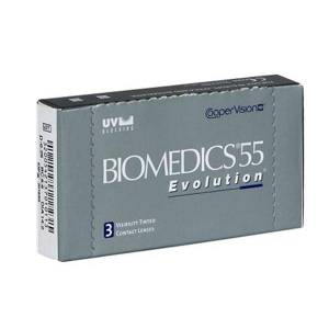 Biomedics Biomedics 55 Evolution 3 Pack Kontaktlinser