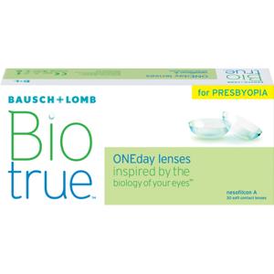 Biotrue ONEday for Presbyopia (30 linser): -2.50, High: +1.75D till +2.50D