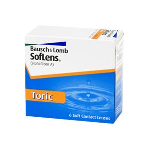 SofLens Toric (6 linser): +0.00, -1.25, 010