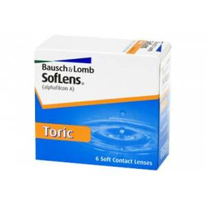 SofLens Toric (6 linser): -3.75, -0.75, 060